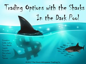 Trading Options with the Sharks in the Dark Pool
